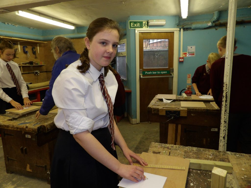 Year 8 Hone Their Woodworking Skills In Dt Winterfold